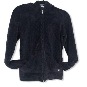 Ultra Soft Canadian Made Black Zip-Up Hoodie